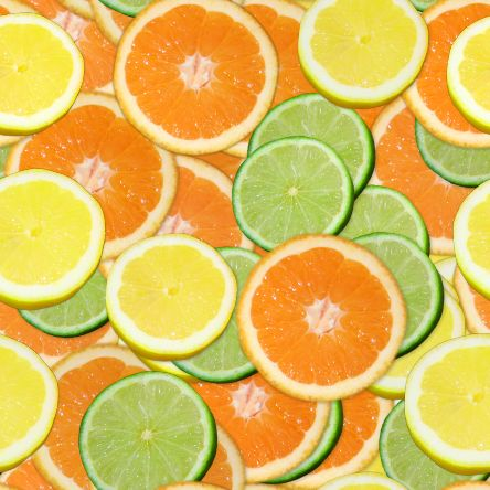 Citrus slices small seamless repeating background