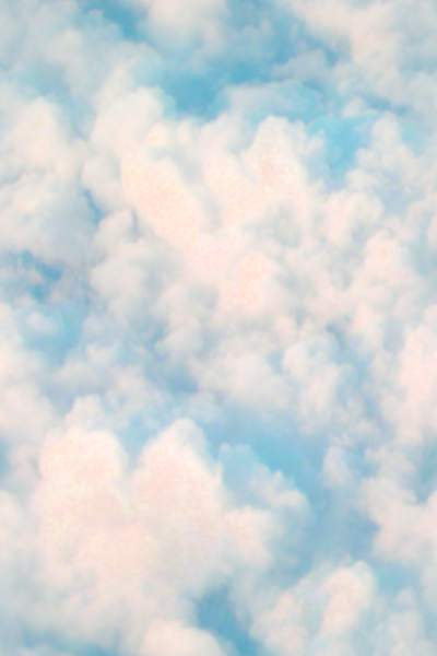 Clouds from above seamless tile