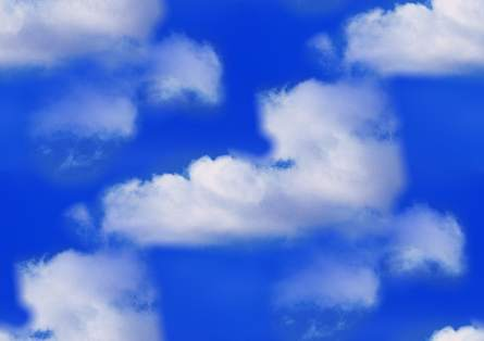 White Clouds Blue Sky Clouds Backgrounds