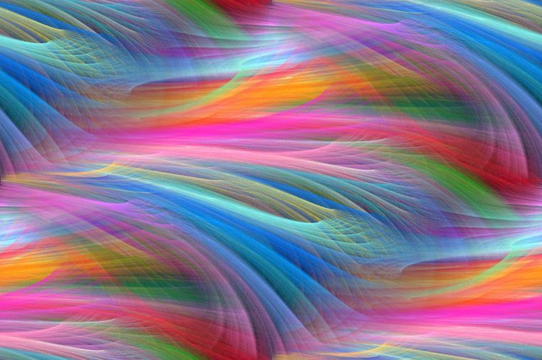 Fractal Colour Waves seamless repeating background image