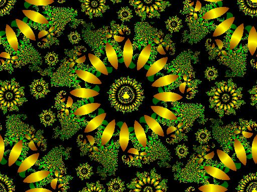 Fractal Riches seamless repeating background