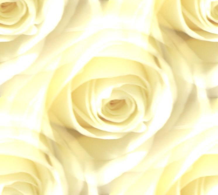 Very light white rose seamless repeating background fill