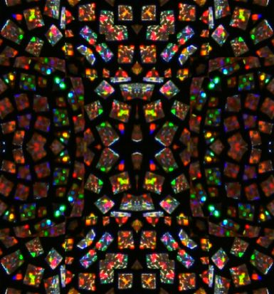 Stained glass colorful seamless repeating background