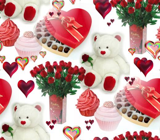 valentines day gifts background image