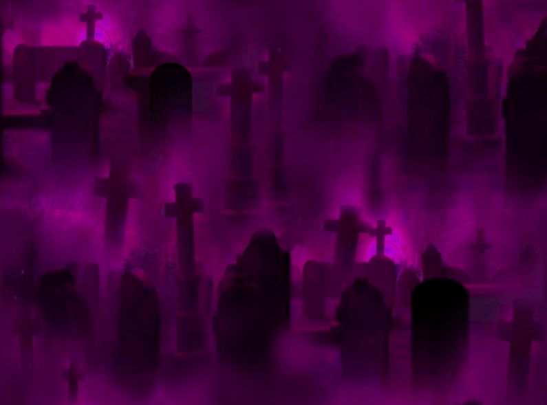 Graveyard Seamless Repeating Background Image Rose